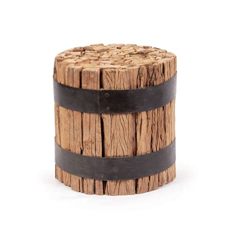 barrel stool