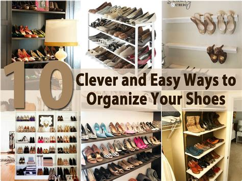 how to organize shoes in a small space business card