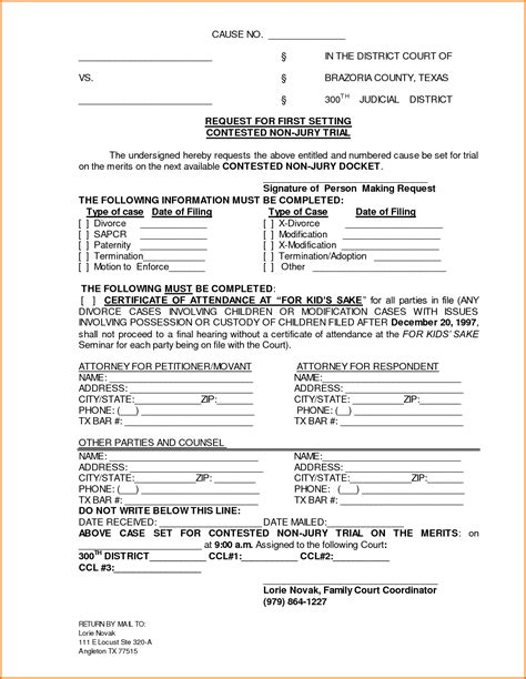 7 divorce papers illinois divorce document