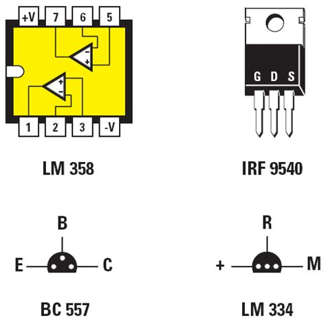 lm358 integrator circuit figure 3 pinouts of the integrated circuit lm358 dual op seen