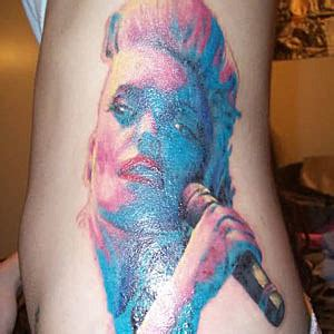 gwen stefani tattoo worst rock tattoos the genuine gwen stefani