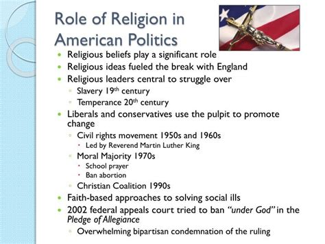 getting religion faith culture and politics from the age of eisenhower to the ascent of books ppt study of american government american political
