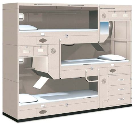 L Rack S by Turnbull 3 High Sit Up Berth For Us Navy Navy