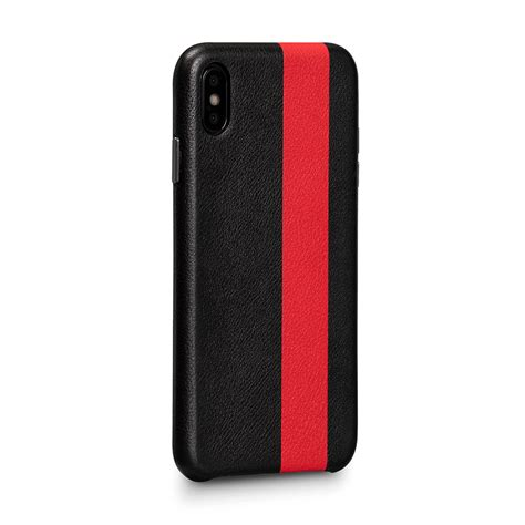 corsa ii z leather snap on for iphone xs max 6 5 in cases