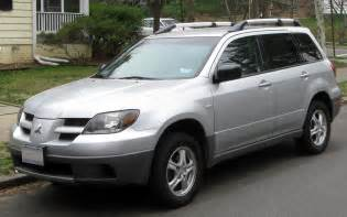 2005 Mitsubishi Outlander Specs 2005 Mitsubishi Outlander Ii Pictures Information And