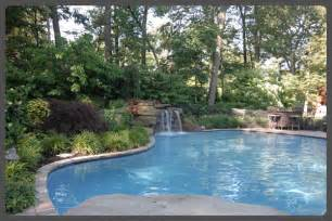 pool landscape design ideas modern pool landscaping ideas with rocks and plants
