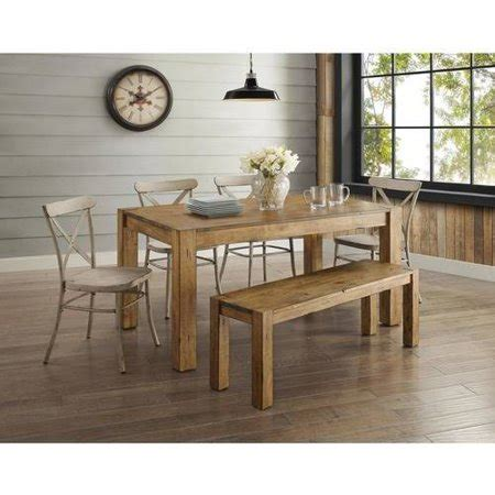 better homes and gardens bryant dining rustic brown better homes and gardens bryant 6 piece dining set
