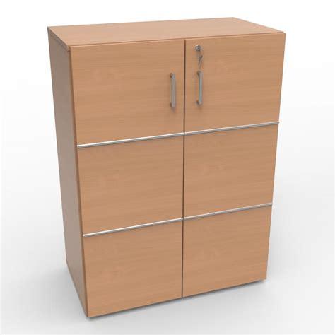 serrure meuble bureau meuble de rangement bureau avec serrure en bois et
