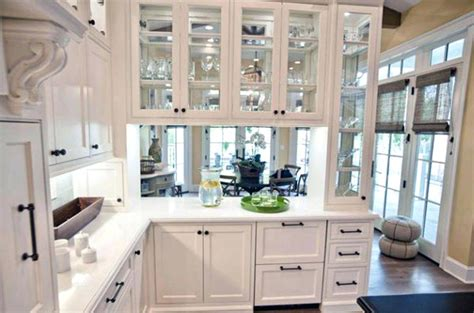 Replace Kitchen Cabinet Doors With Glass Improvement How To How To Install Glass Front Kitchen Cabinets K C R