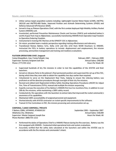 To Civilian Resume Writers by To Civilian Resume Writers Resume