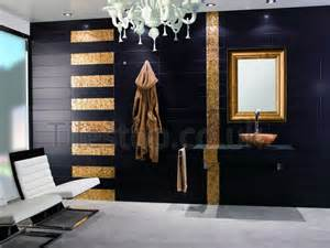 Gold And Black Bathroom Ideas Black And Gold Bathroom Salon Gold Bathroom Feature Walls And Luxury