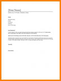 Exle Simple Cover Letter by 10 Simple Cover Letter Format Monthly Bills Template