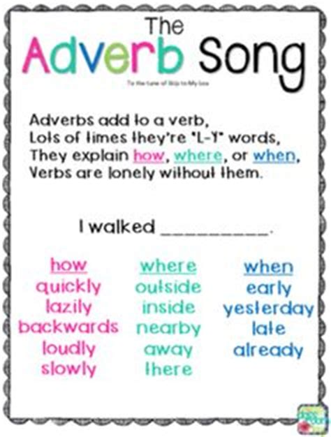 verb pattern confess playing with adverbs adverbs worksheets and free printable