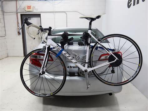 Bike Rack For Toyota Camry by 2014 Toyota Camry Trunk Bike Racks Thule
