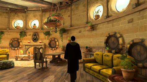 hufflepuff common room playstation home pottermore hufflepuff common room