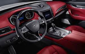 Maserati Inside Maserati Levante To Borrow Chrysler Pacifica In