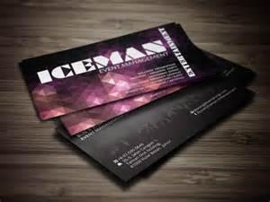 event management business card designs pics for gt event management business cards design