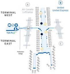 denver airport map us airways denver international den airport map