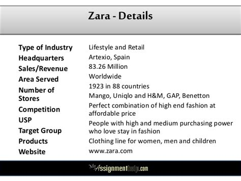 Retail Detail Is Hm Going High End Second City Style Fashion by Zara Study Pestle Swot Analysis