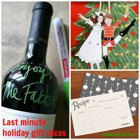 last minute gift ideas when you have no time cool mom picks