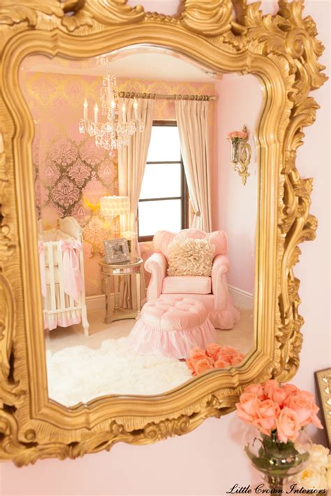 pink and gold baby room design reveal pink gold ivory baby s nursery