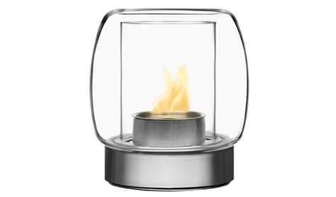 Iittala Fireplace by Iittala Kaasa Fireplace 255mm Clear By Ilkka Suppanen