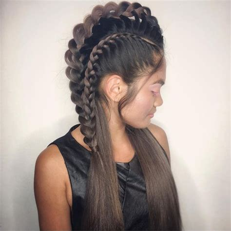 Mohawk Braids Hairstyle For Black by Mohawk Braid Hairstyles Black Braided Mohawk Hairstyles
