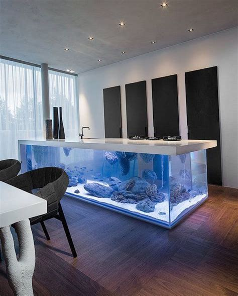 Great Room Ceiling - 8 extremely interesting places to put an aquarium in your home