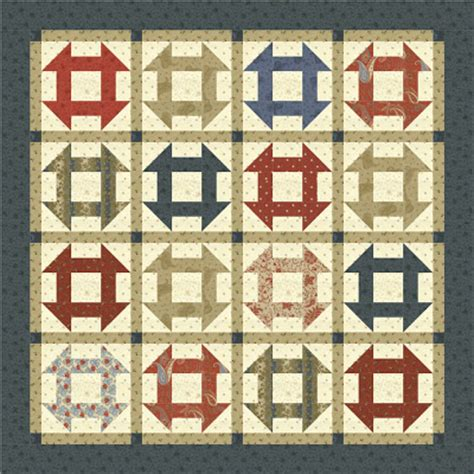 quilt pattern monkey wrench monkey wrench quilt block pattern bing images