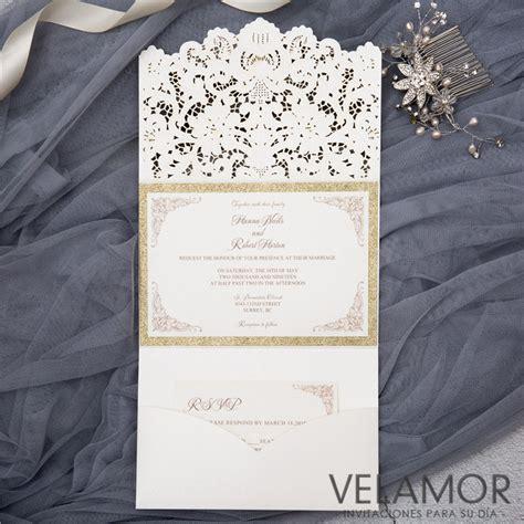 mayoreo de invitaciones invitaciones de boda venta invitaciones al por mayor invitaciones de corte laser invitacion envolvente para boda wpfb2121