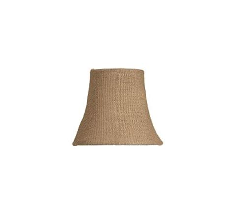 burlap chandelier shade burlap chandelier shade set of 3 pottery barn