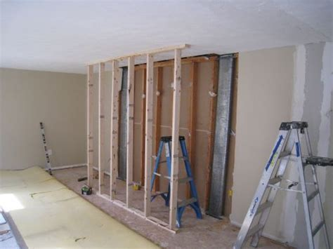 temporary wall how to remove a load bearing wall part 2 one project