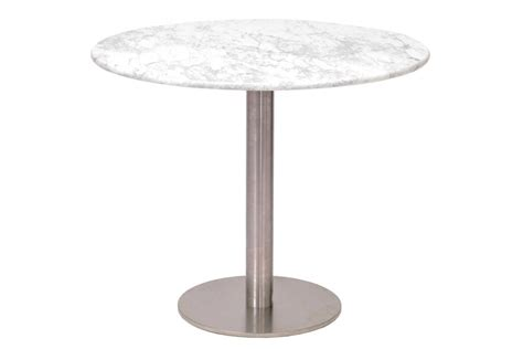 Pedestal Table And Chairs Carrara Marble Canteen Table Range Pr Home