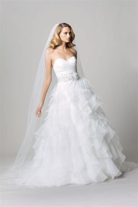 A162 Pink Boutique Original Half Dress Fall 2012 Wedding Dress Wtoo Bridal Gown By Watters 14