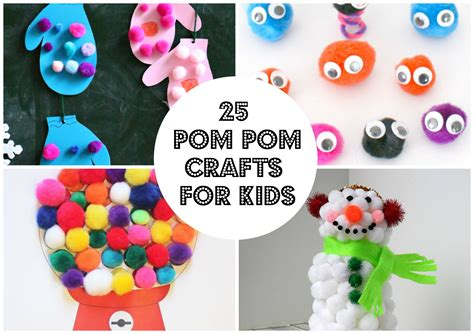 pom pom craft projects 25 pom pom crafts for