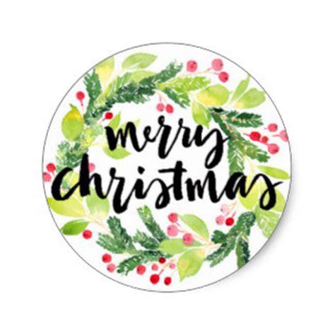 Aufkleber Frohe Weihnachten by Stickers Zazzle