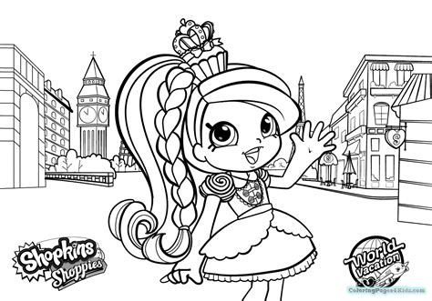 Shopkins Season 8 Coloring Pages by Coloring Pages Shopkins Season 8 Coloring Pages For