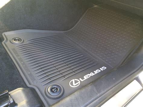 2014 lexus is 250 all weather floor mats my automotive