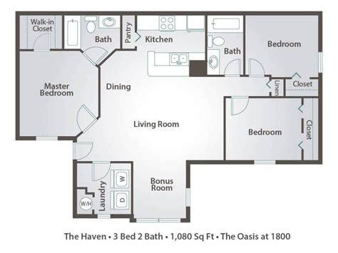 2 bedroom apartments in tallahassee the oasis at 1800