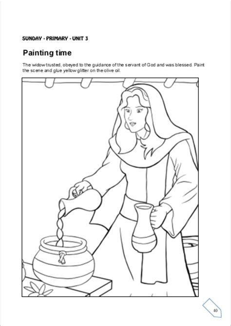 free coloring pages of a room for elisha