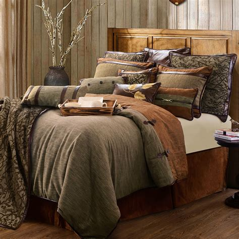 highland lodge 4 5 pc comforter bed set