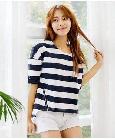 Blouse Jepang blouse jy74360 blue baju import murah atasan wanita murah