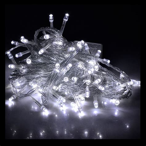 10m White Led Fairy Lights Festive Lights 10m Lights
