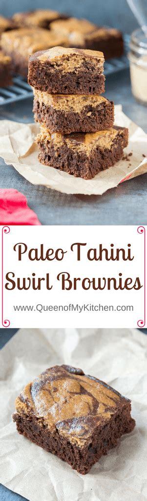Brownies Almond By Steamqueen paleo tahini swirl brownies of my kitchen