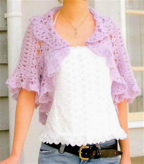 simple pattern bolero 20 simple crochet shrug design diy to make