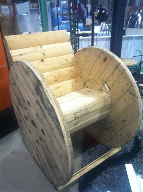 Cable Reel Rocking Chair by 15 Best Diy Crafts That I Images On