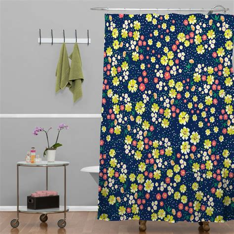 Navy Floral Curtains 25 Best Ideas About Navy Shower Curtains On Navy Website Themed Rooms And