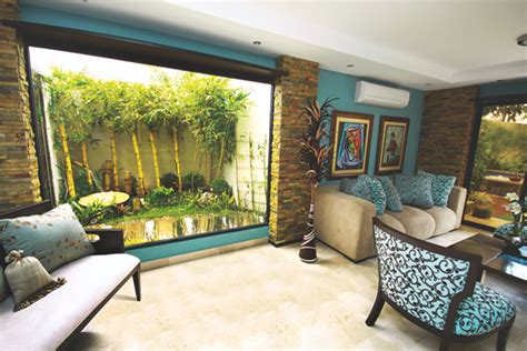 ideas para decorar la casa con jardines interiores