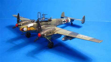 Best Blue Paint by Khanzilla Finished Eduard 1 72 Bf 110 G 2 Quot Wespen Quot