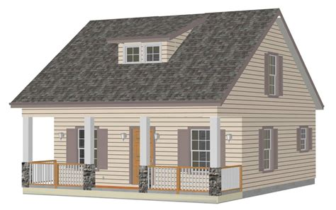 country cabins plans cottage front sds plans